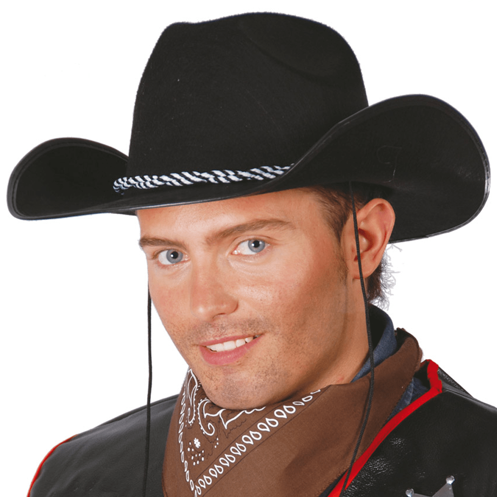Chapéu Vaqueiro Preto, Adulto