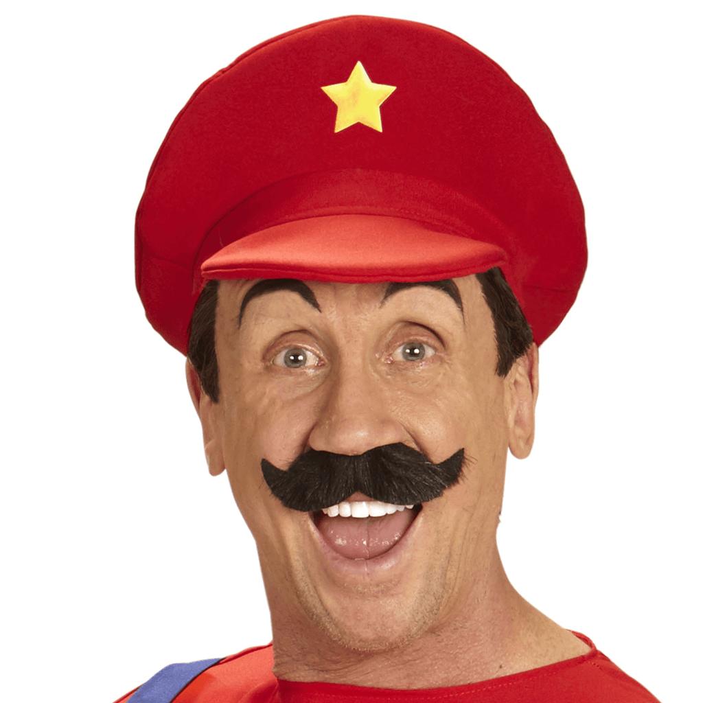Chapéu Vermelho de Super Canalizador Mário, Adulto