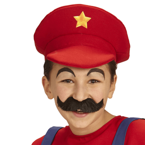 Chapéu Vermelho de Super Canalizador Mário, Criança