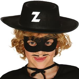 Chapéu Zorro Feltro, Criança