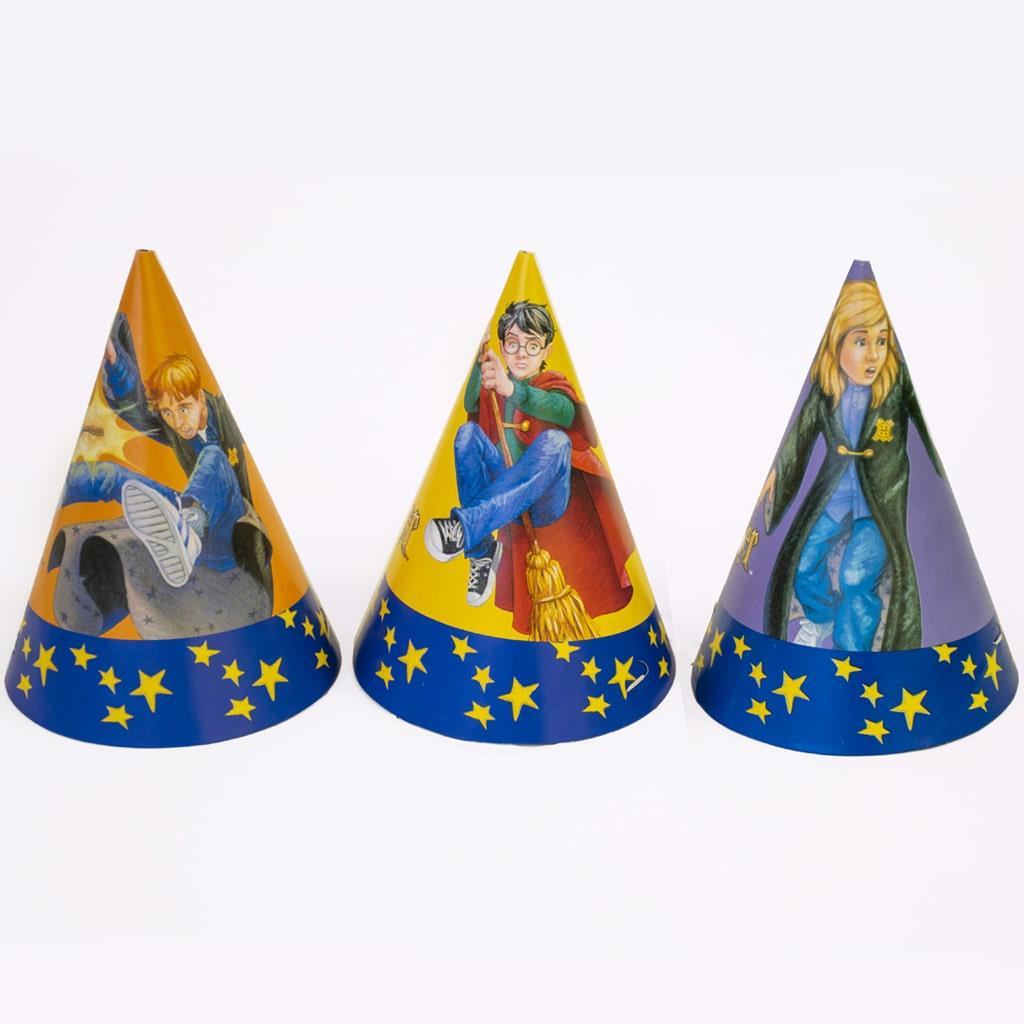 Chapéus Harry Potter, 6 unid.
