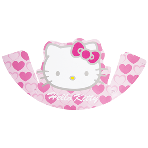 Chapéus Hello Kitty, pack 6