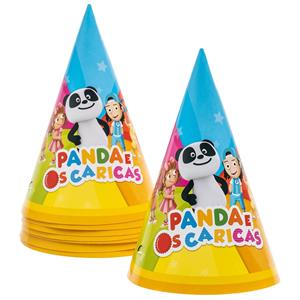 Chapéus Panda e os Caricas, 8 unid.