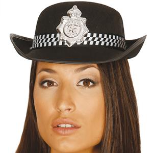 Chapéu Polícia Mulher