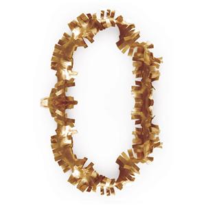 Colar Havaiano Plástico Dourado
