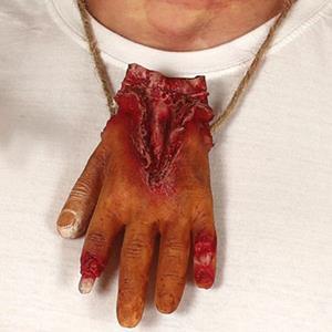 Colar Mão Sangrenta