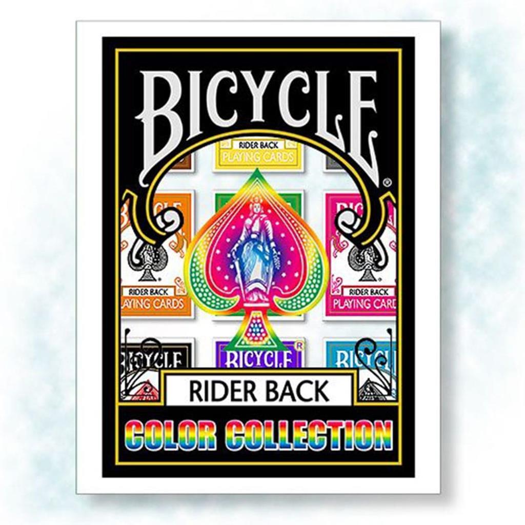 Coleção Baralhos Cores Bicycle Rider Back
