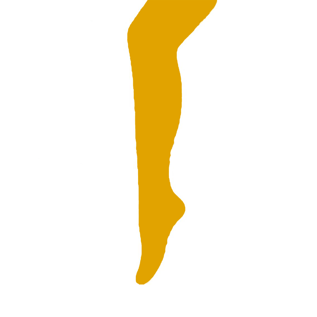 Collant Microfibra Amarelo, Criança