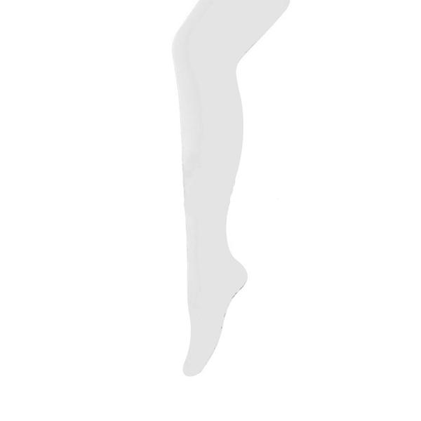 Collant Microfibra Branco, Criança