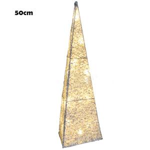 Cone Luminoso Branco Quente, 50cm