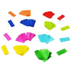 Confeti Rectangular Ignifugo 1Kg