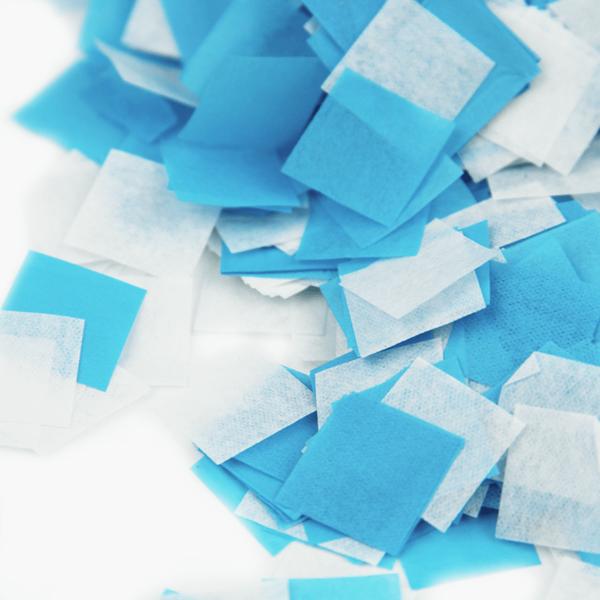Confetis Azuis para Balões, 20 gr