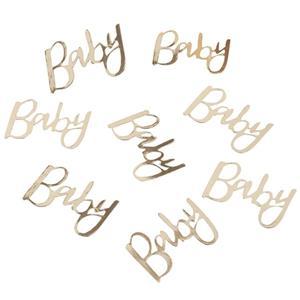 Confetis Baby Shower Dourados, 14 gr