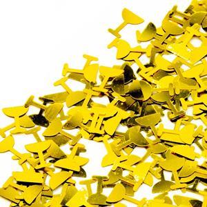 Confetis Cálice Primeira Comunhão Dourado, 20 gr.