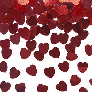 Confetis Corações Vermelhos, 30 gr.