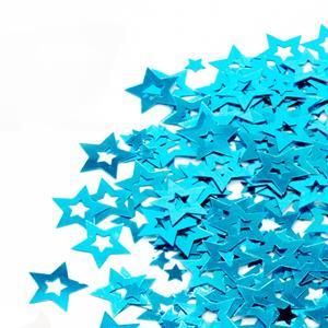 Confetis Estrelas Azul Turquesa, 20 gr