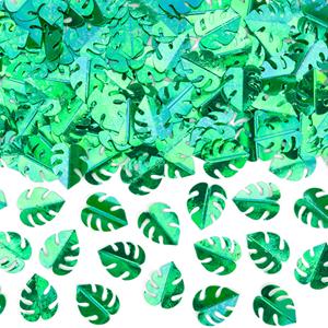 Confetis Folhas Verdes, 15 gr