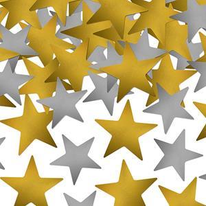 Confetis Prateados Dourados, 7gr