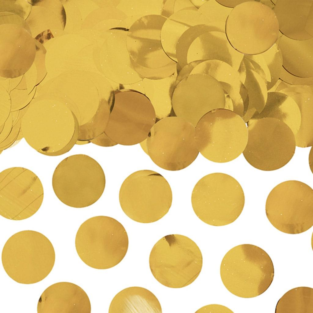 Confetis Redondos Dourados, 15 gr.