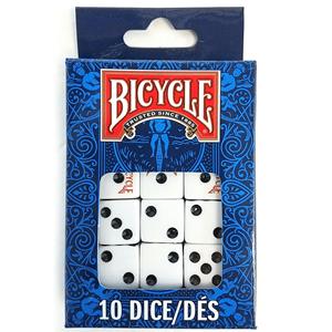 Conjunto 10 Dados de Jogo Bicycle