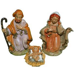 Conjunto 3 Figuras Natalícias do Presépio de Belém