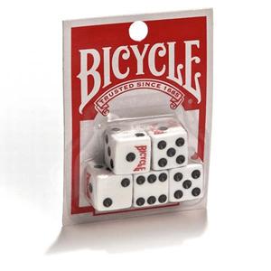 Conjunto 5 Dados de Jogo Bicycle