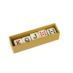 Conjunto 5 Dados de Poker