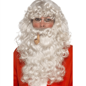 Conjunto Acessórios Pai Natal, 4 Peças