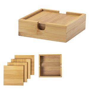 Conjunto Bases para Copos em Bambu
