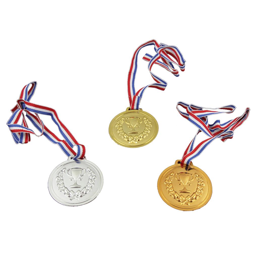 Conjunto de 3 Medalhas