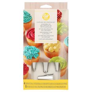 Conjunto Decoração de Cupcakes 12 Peças