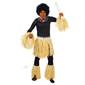 Conjunto Zulu Tribal