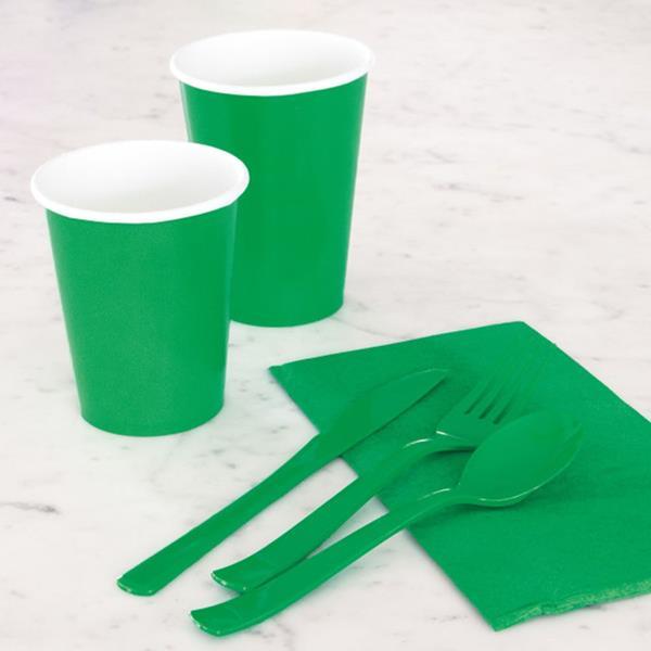 Copos Verde, 8 unid.