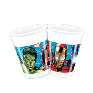 Copos Avengers, 8 Unid.
