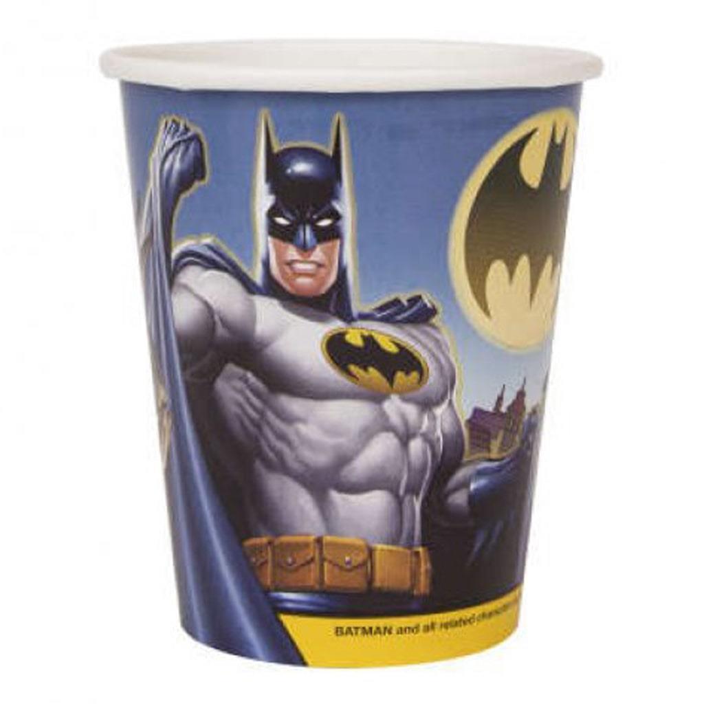 Copos Batman, 8 unid.