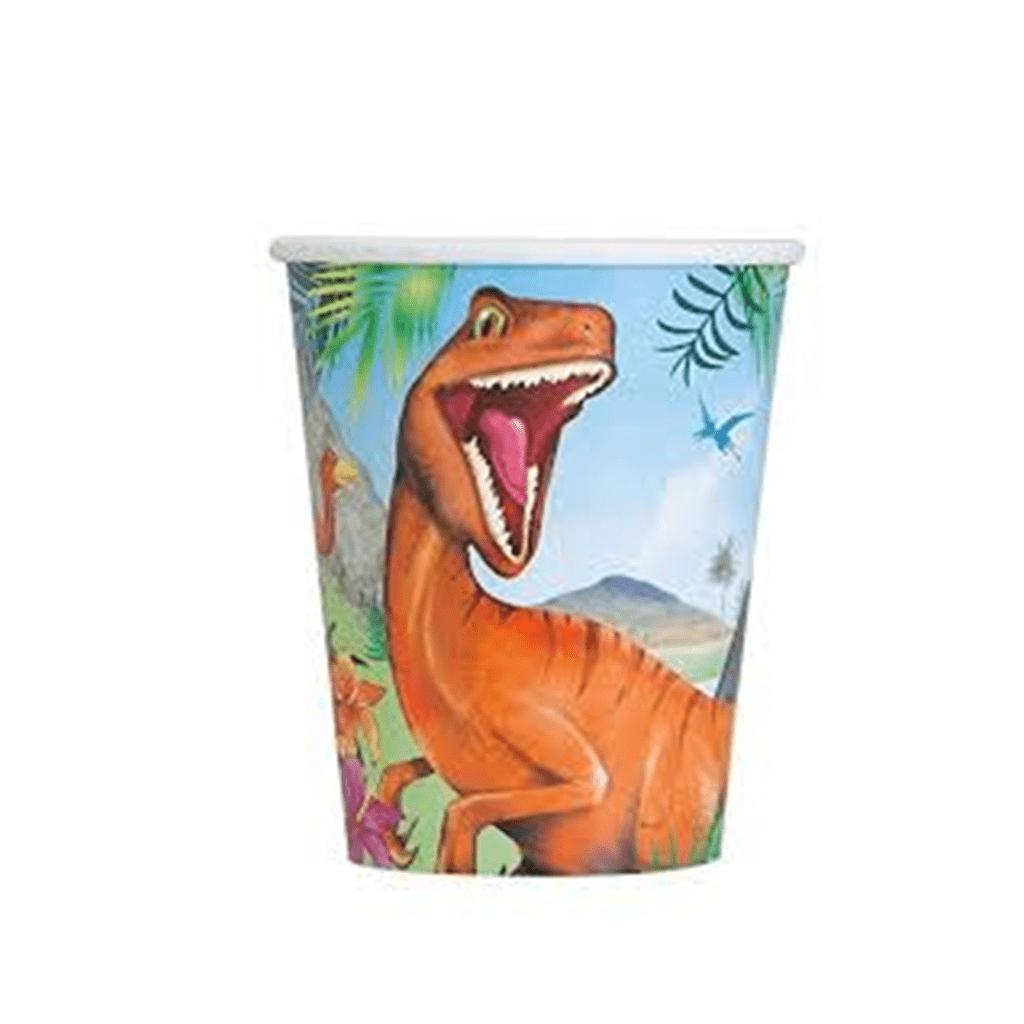 Copos Dinossauro, 8 unidades