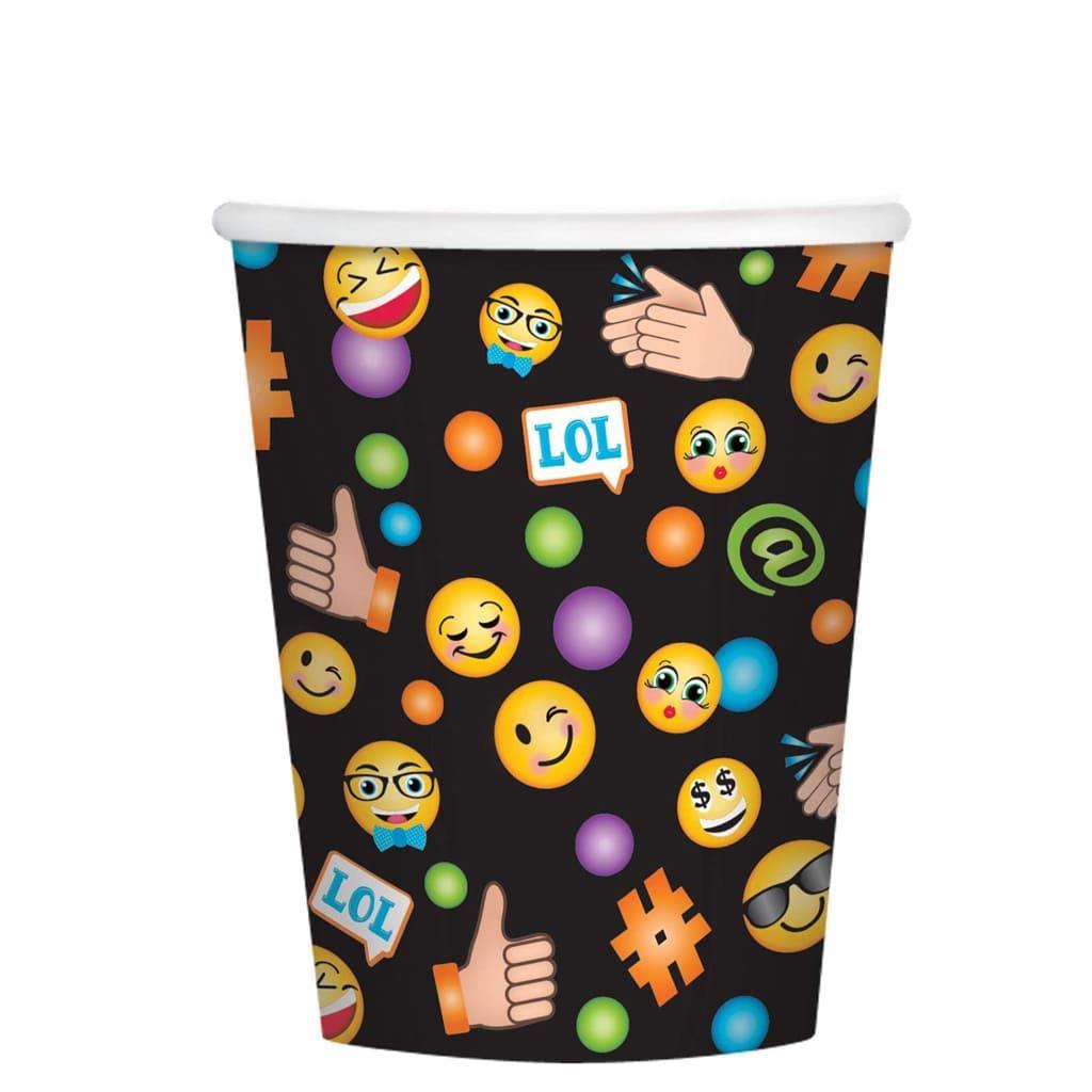 Copos Emojis Lol, 8 unid.