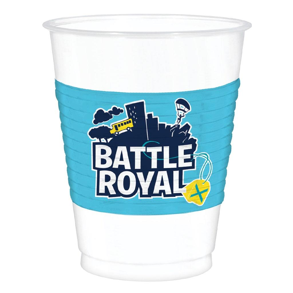 Copos Fortnite Battle Royal, 8 unid.