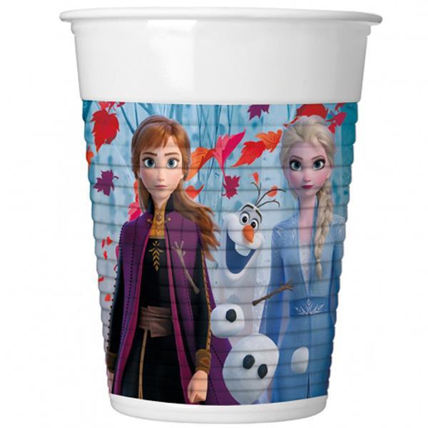 Copos Frozen, 8 unid
