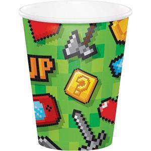 Copos Gaming Party, 8 unid.
