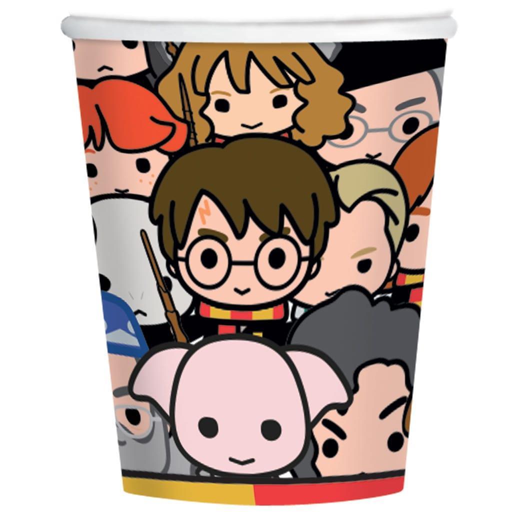 Copos Harry Potter Chibi, 8 unid.