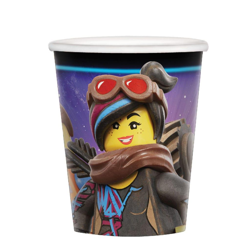 Copos Lego Movie 2, 8 unid.