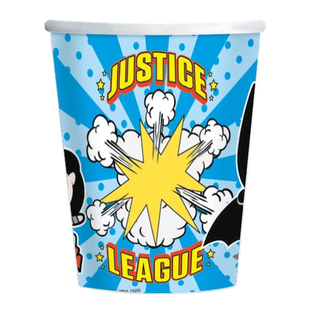 Copos Liga da Justiça, 8 unid.
