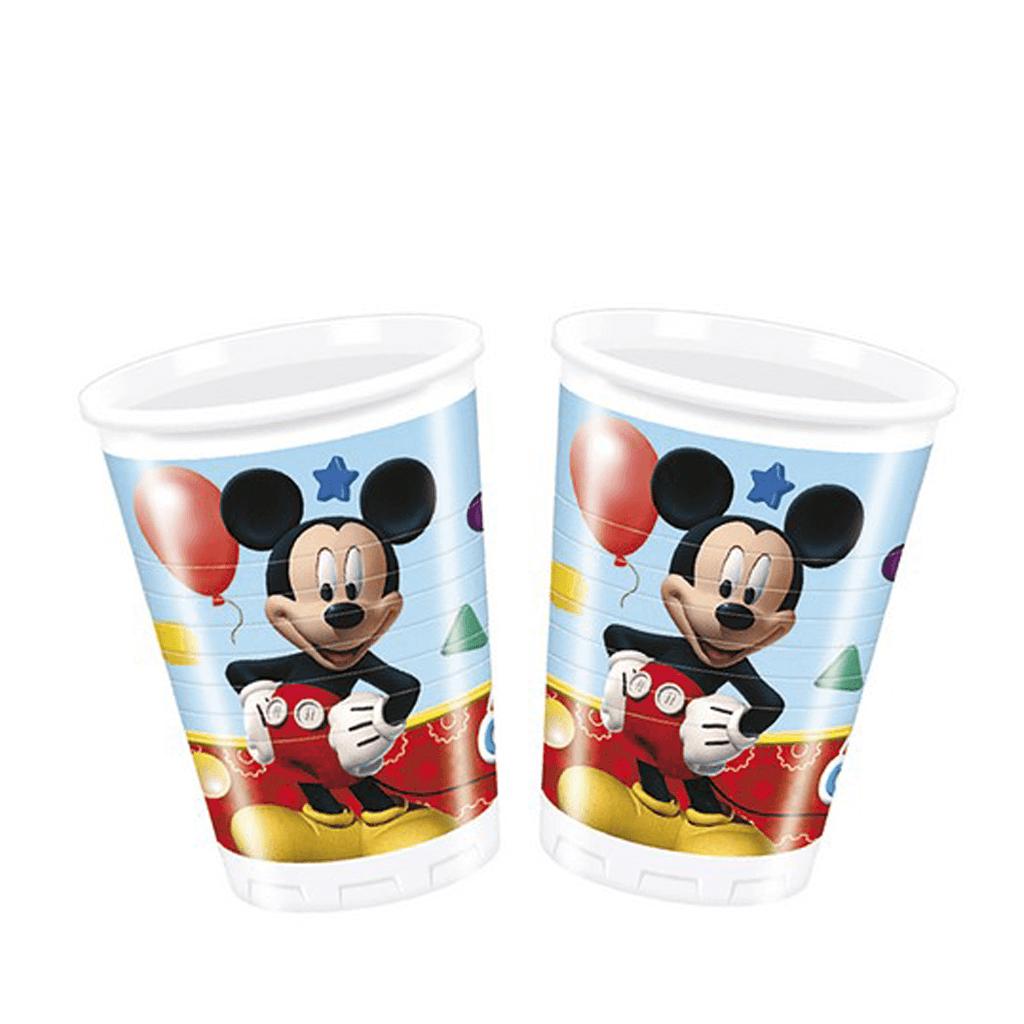 Copos Mickey, 8 Unid.