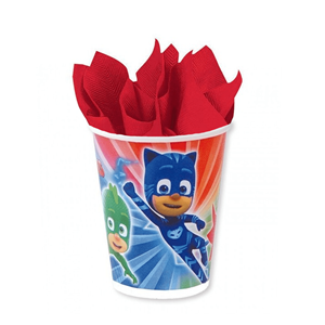 Copos PJ Masks, 8 un
