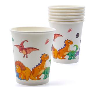 Copos Reino dos Dinossauros, 10 unid.