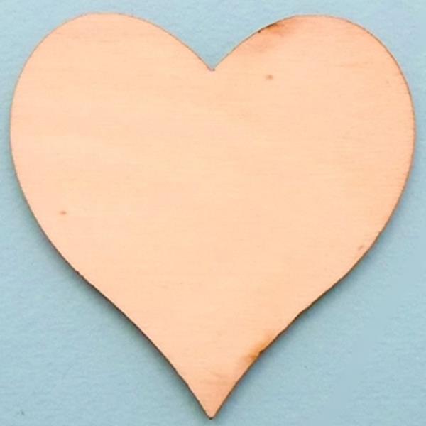 Coração em Madeira, 30 cm