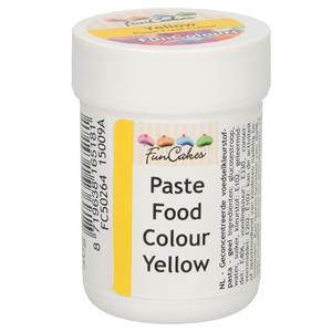 Corante em Gel Amarelo, 30 gr