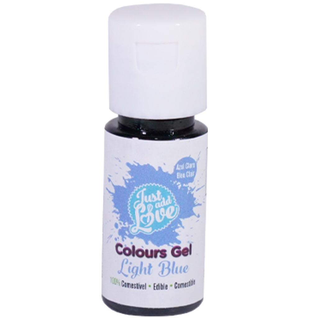 Corante em Gel Azul Claro, 25 ml