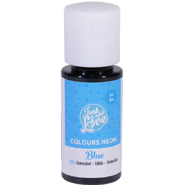 Corante em Gel Azul Neon, 25 ml